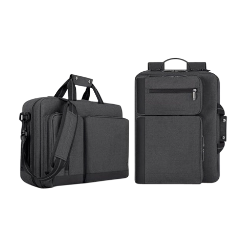 Multi-functional laptop briefcase/backpack