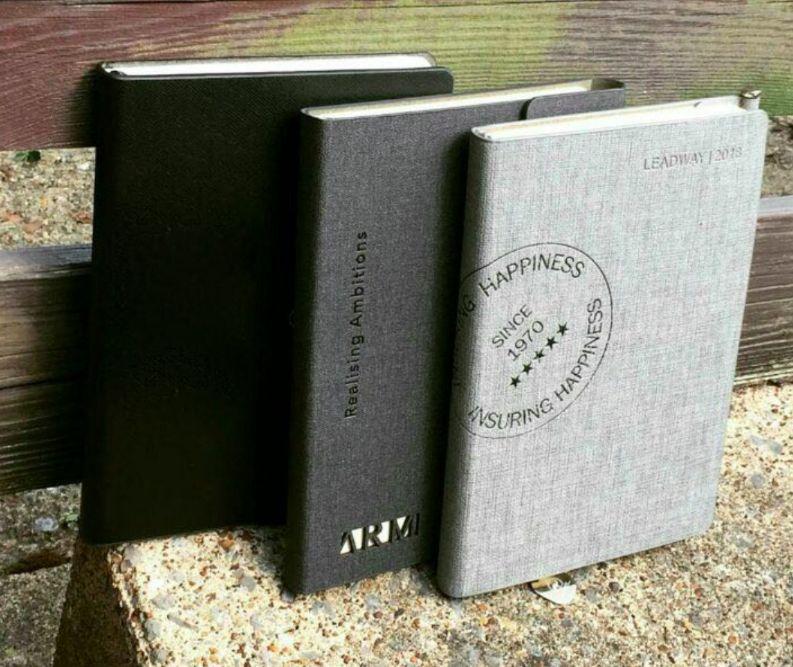 Customized notebooks & diaries